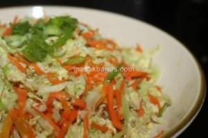 orak arik sayuran dan telur