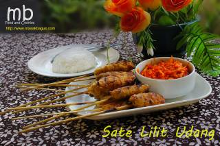 Sate lilit udang