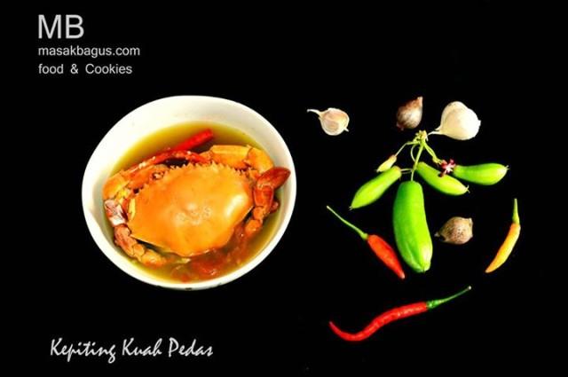 Kepiting Kuah Pedas