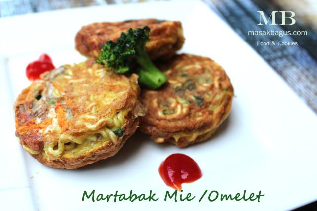 martabak mie / omelet
