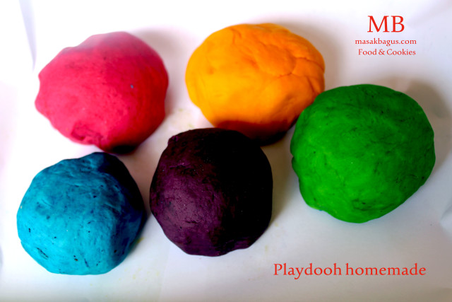 playdough homemade