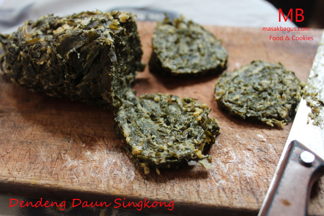 dendeng daun singkong