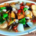 Tofu siram sayur