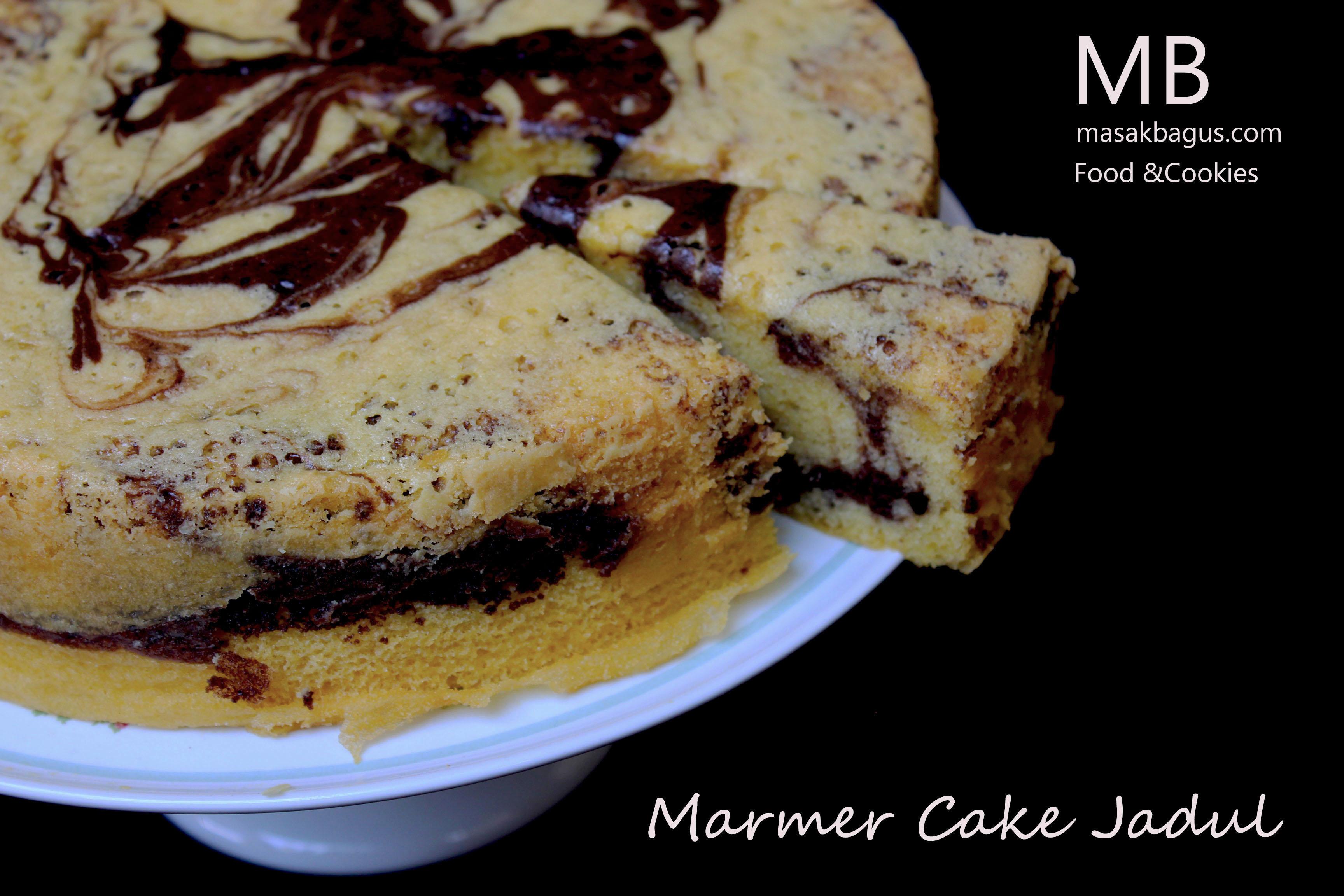Resep Cake Jadul Enak: Resep Dan Cara Memasak Resep Marmer Cake Enak Enak