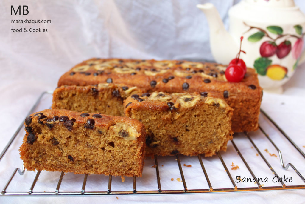 Banana Cake gula palm