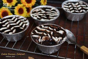 cake siram coklat