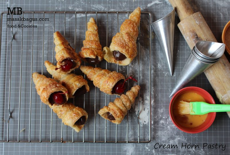 cream horn pastry