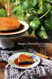 magic cake , chocoflan cake , the impossible cake