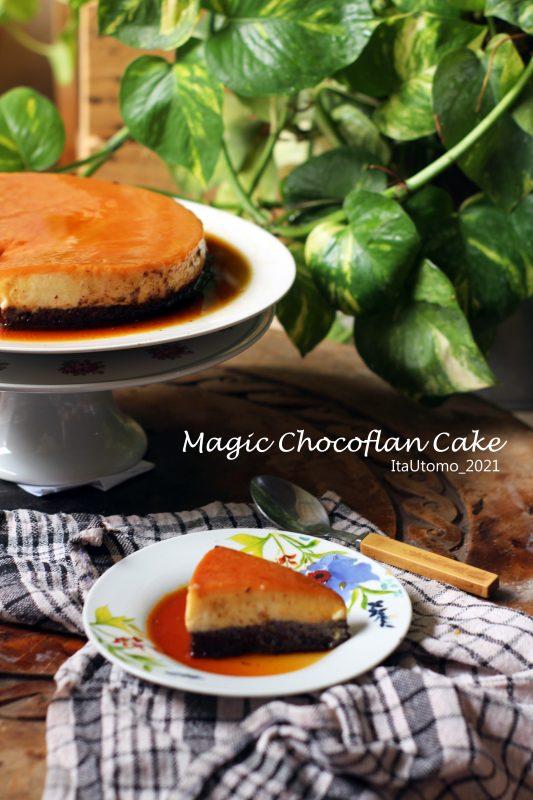 magic cake , chocoflan cake , the impossible cake